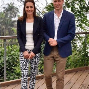 Gap Ikat Kate Middleton pants